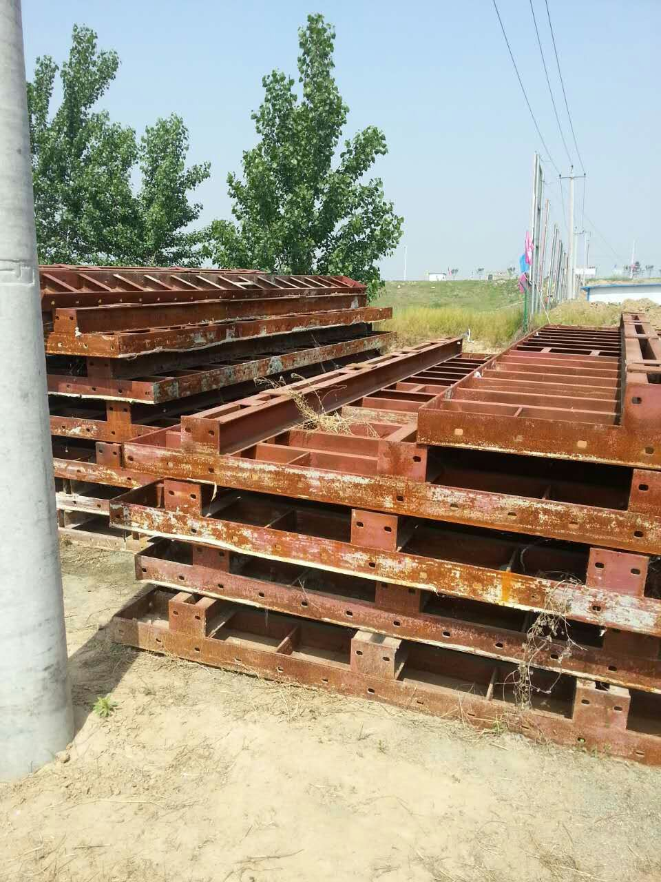 西安建筑模板回收