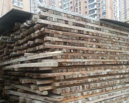 陕西废旧方木回收