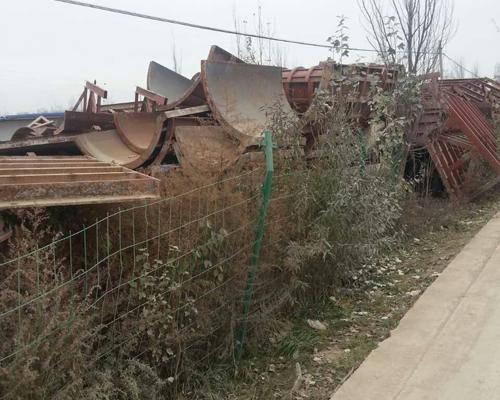 建筑钢模板回收