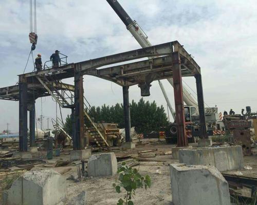 陕西钢结构厂房拆除回收