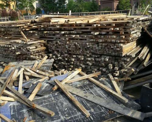 废旧方木模板回收