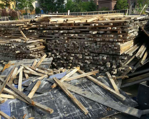 汉中废旧方木模板回收