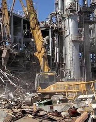 倒闭厂矿拆除回收
